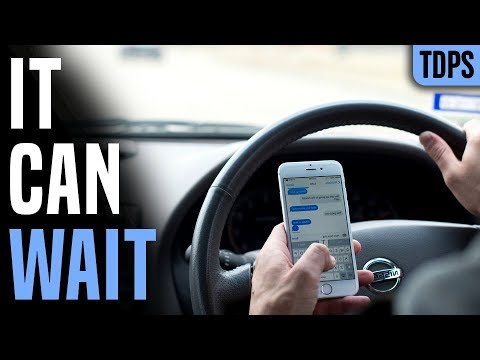 Has got the Ban on Texting While Driving Demonstrated to work