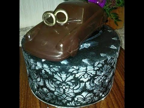 Торт на чугунную свадьбу своими руками