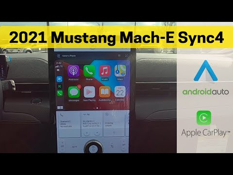 Learn everything about Sync4 in the 2021 Ford Mustang Mach E