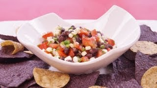 Corn And Black Bean Salsa Recipe: Black Bean Salad: Diane Kometa - Dishin With Di  # 96