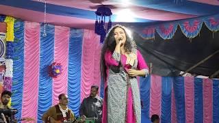 Ogo Tomar Akash Duti Chokhe Cover By Anwesha Dutta    Anwesha Dutta Live At Raghunathpur High School