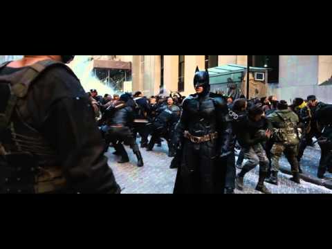 The Dark Knight Rises Wall Street Clash