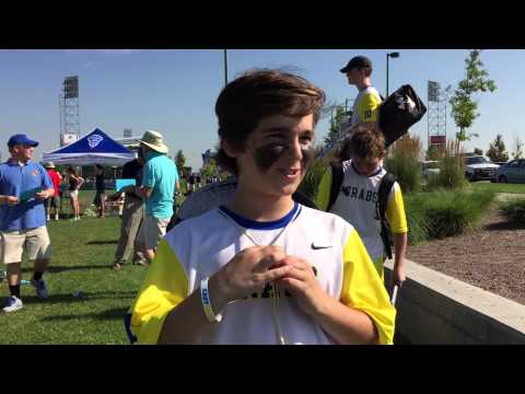 World Series Of Youth Lacrosse Semifinals: Harrison Spilker Of Crabs Lacrosse