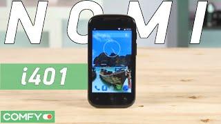 Nomi i401 Colt - смартфон сверхбюджетного уровня - Видеодемонстрация от Comfy.ua