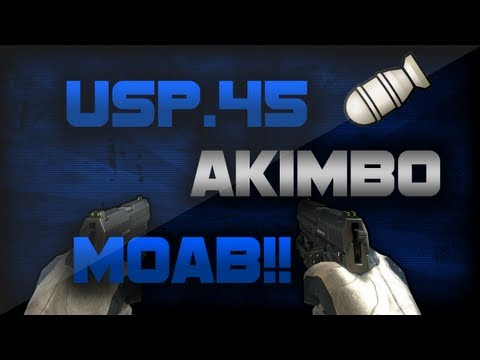 MW3 | MOAB with Every Gun - USP .45 MOAB