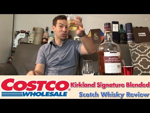 Costco Kirkland Signature Blended Scotch Whisky Review WhiskyWhistle 204