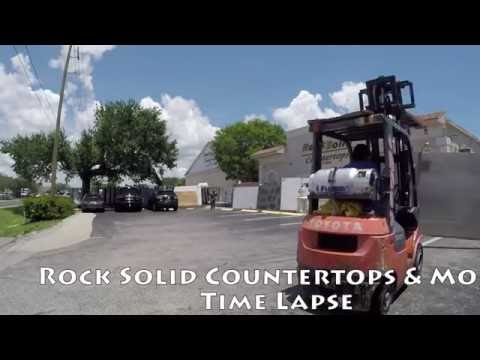 Rock Solid Counter Tops U0026 More: Time Lapse