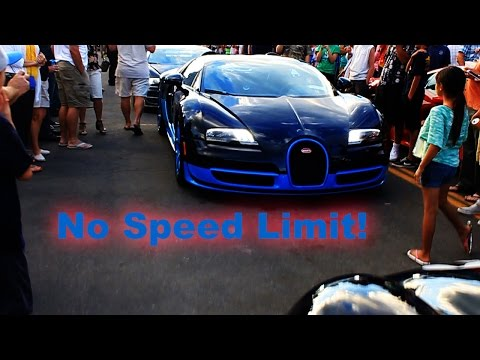 Watch These Bugatti Veyrons Hit 235 MPH Legally on Public Roads