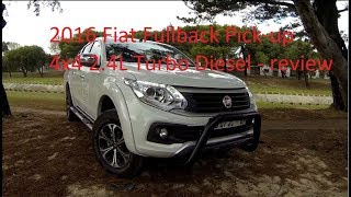 2016 Fiat Fullback pick-up 4x4 double cab review