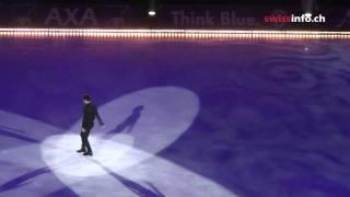 「アート・オン・アイス」2011。 チューリヒ公演のステファン・ランビエ...