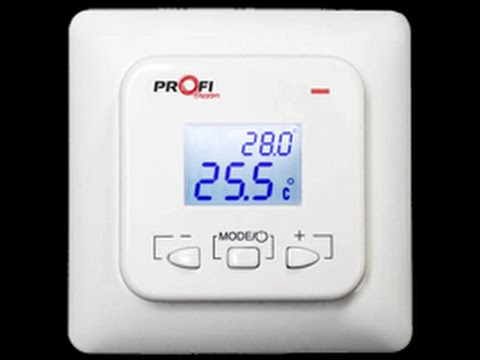 Profitherm Ex01 (Украина) цифровой терморегулятор для теплого пола .
