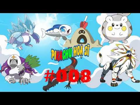 Phim hoạt hình Pikachu Hoạ sĩ Tập 8 Vẽ pokemon Sandpan Sorugareo Sunaba Togedemaru Yowashi