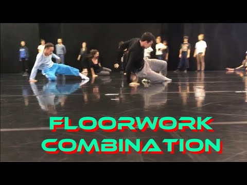 Floor Work Combo - Slides&roll(Kibbutz Contemporary Dance Company)