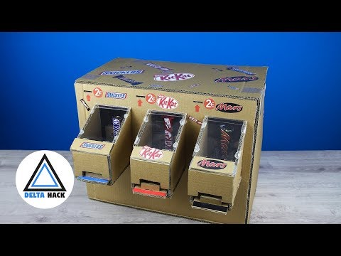 HOW TO MAKE CHOCOLATE VENDING MACHINE
