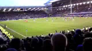 BLOW YOUR FLIPPIN WHISTLE ..2 -1 EVERTON V BORO SECONDS TO GO.GOODISON PARK 2009