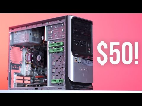 $50 Gaming PC Challenge!