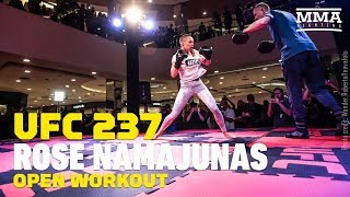 UFC 237: Rose Namajunas Open Workout (Complete) - MMA Fighting