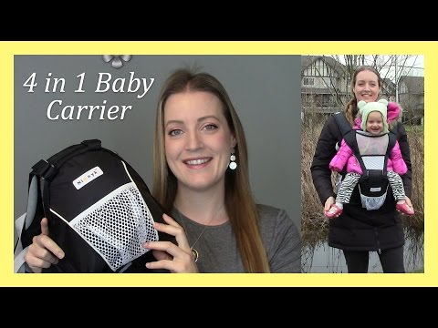 4 In 1 Nimnik Baby Carrier With Hip Seat A Must Try Allison S