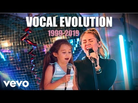 Miley Cyrus Vocal Evolution 1999-2019 (20 years)