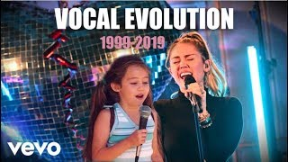 Miley Cyrus Vocal Evolution 19992019 (20 years)
