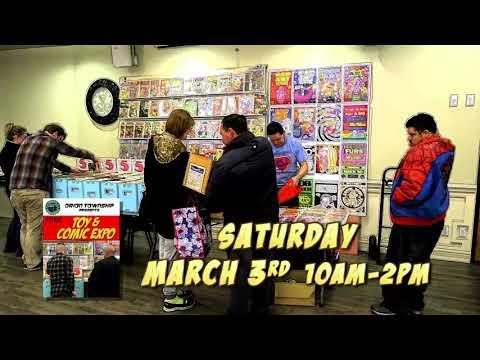 Orion Township 2018 Toy & Comic Expo Promo