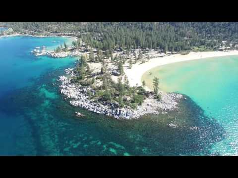 One Day Above Lake Tahoe - Aerial 4K