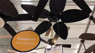 Ceiling Fan Display at Lowes (2019)
