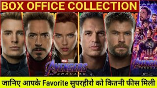 Box Office Collection Of Avengers Endgame,Avengers Endgame Actor's Salary,Avengers Endgame Worldwide
