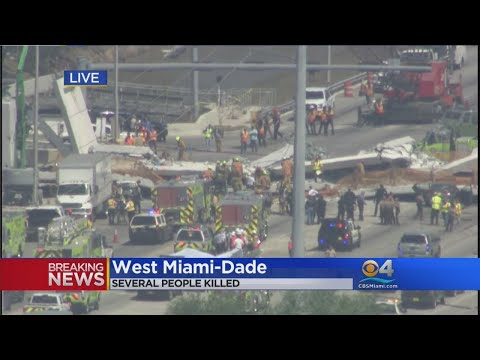 Web Extra: CBS4's Rick Folbaum Talks To Rep. Mario Diaz Balart On FIU Pedestrian Bridge Collapse