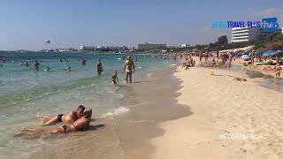 Walking at the Beach of Ayia Napa