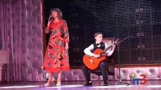 В Черноморске прошел концерт «Папа, мама, я - талантливая семья!»