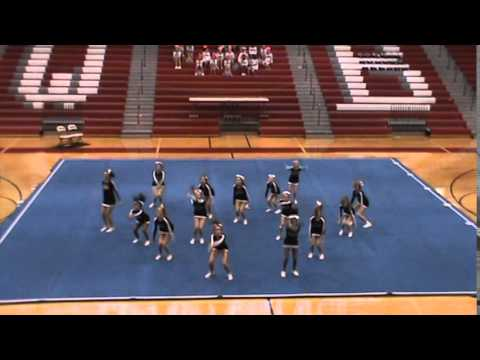 West Jackson Middle School - 2014 Winder Barrow Cheer Competition