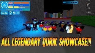 ALL LEGENDARY QUIRK SHOWCASE | Boku No Roblox Remastered [ROBLOX] [SHOWCASE]