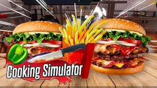 PROVO A FARE UN HAMBURGER - Cooking Simulator
