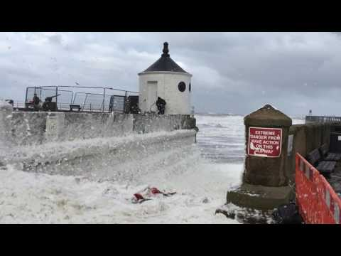 whitby storm surge 2017