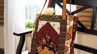 Tips for Making the June Tailor Quilt As You Go Tori Tote | a Shabby Fabrics Tutorial