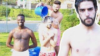 PRANK an Habib ! - EISWASSER über den Kopf feat. SKK, Blackbros | ALI