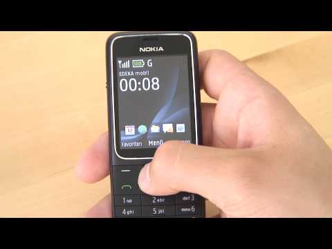 Nokia 2710 Navigation Edition Test Bedienung