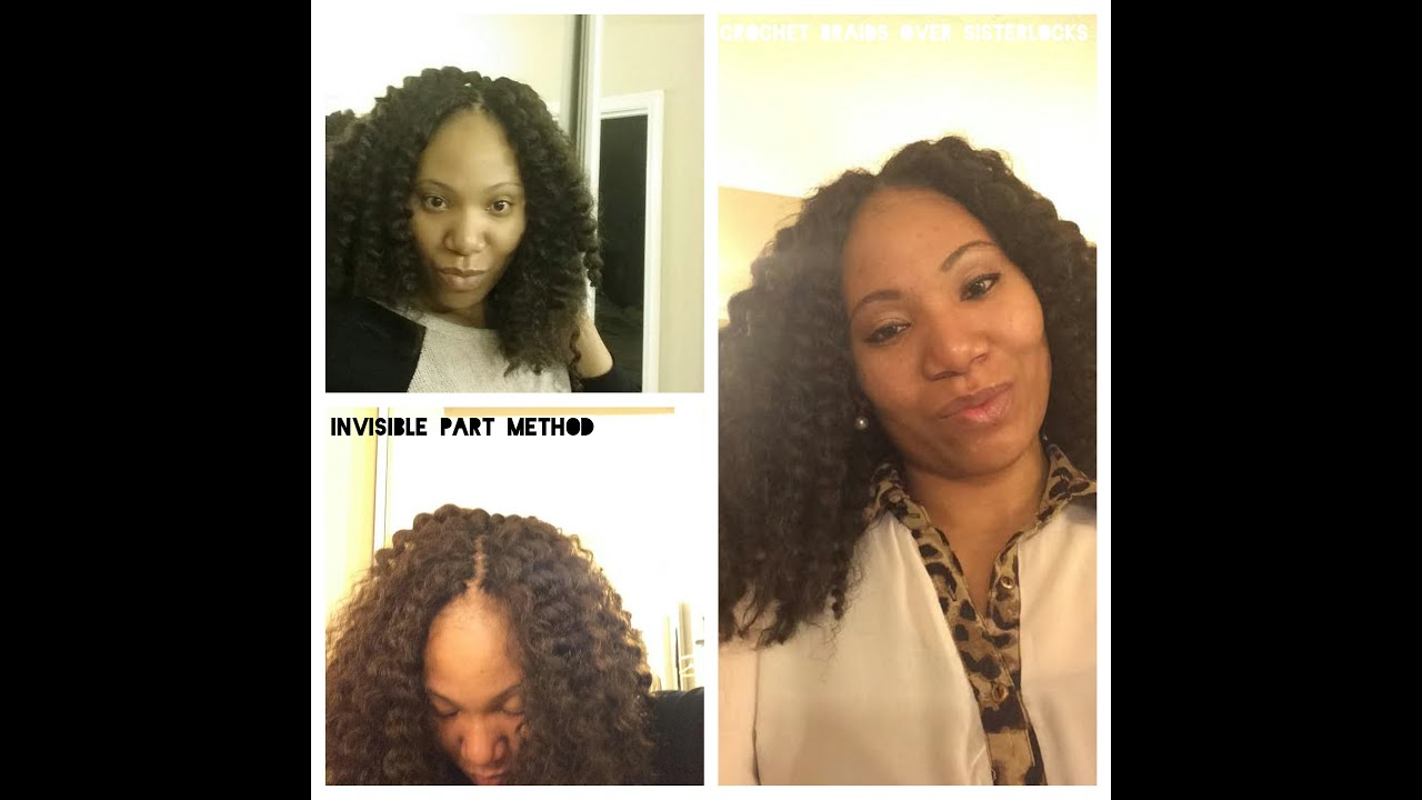 How To Do Crochet Braids Over Sisterlocks Youtube