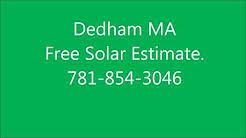 Solar Panels Dedham MA