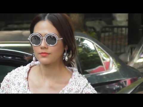 Araya Hargate Chompoo @ Paris Fashion Week 2 july 2018 show Giambattista Valli # PFW