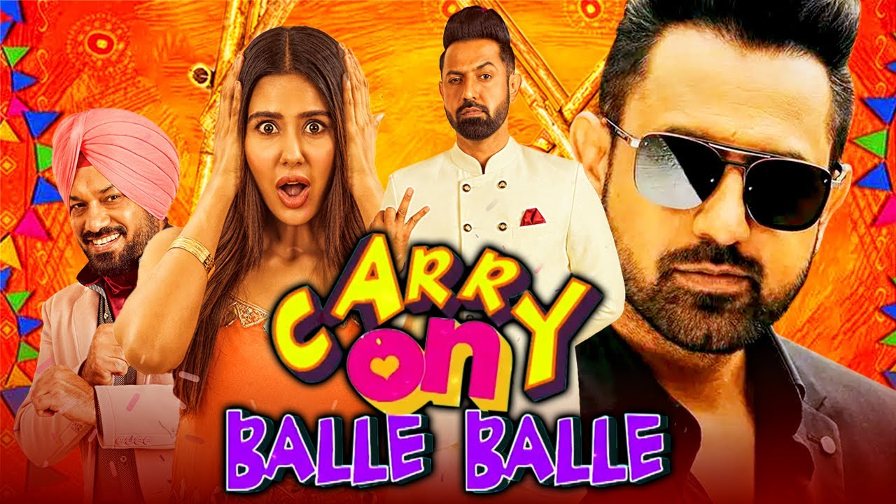 Carry On Balle Balle (Carry On Jatta 2) 2020 New Released Hindi Dubbed Movie | Gippy Grewal, Sonam