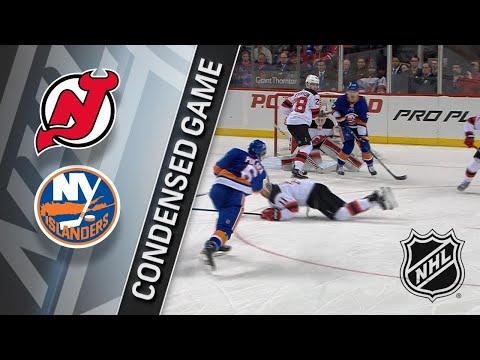 01/07/18 Condensed Game: Devils @ Islanders