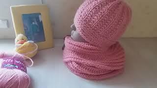 Обзор вязаных женских шапок!!!