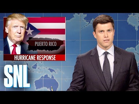 Weekend Update on Hurricane Maria - SNL