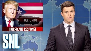 Weekend Update on Hurricane Maria - SNL 2017 Video
