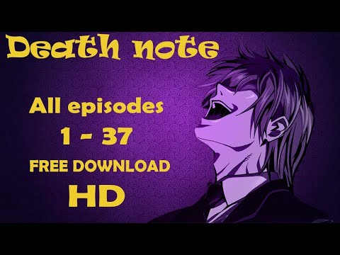 How To Download Death Note Full Series