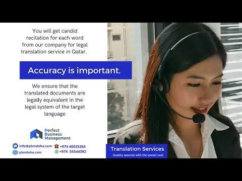 Perfect Business Management Translation services, Doha , Qatar