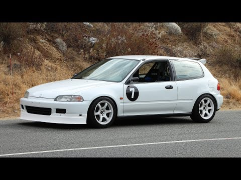 B18C Swapped EG Civic is the Pinnacle Golden Era Honda