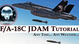 DCS: F/A-18C Hornet | JDAM Tutorial! | Any Time... Any Weather...